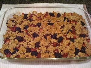 berry granola bars